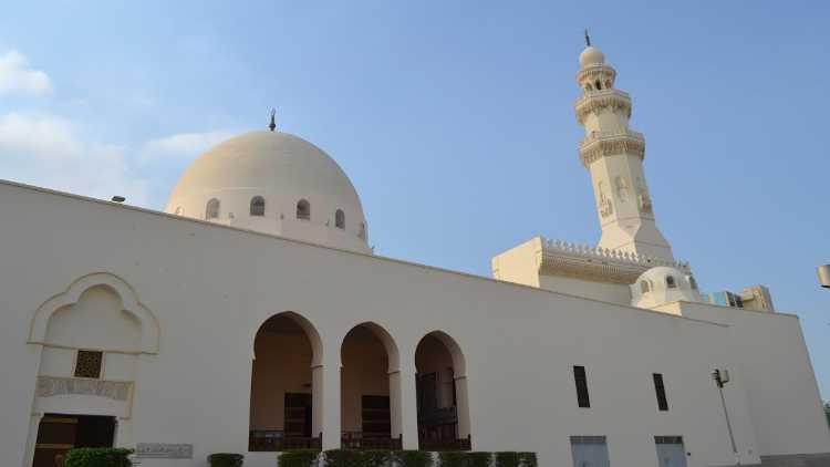 سعودی عرب کی ایک عالیشان مسجد