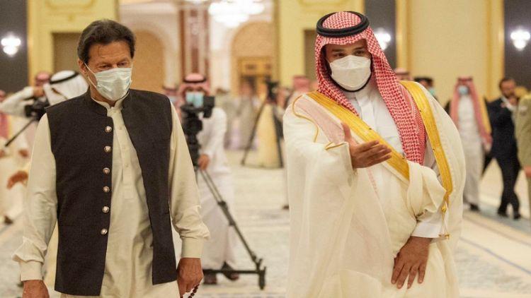سعودی ولی عہد اور عمران خان