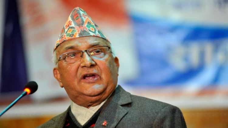 نیپال کے وزیر اعظم کے پی شرما اولی