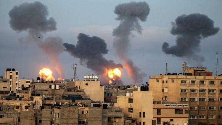 اسرائیل نے میڈیا کے مراکز  کو نشانہ بنایا
