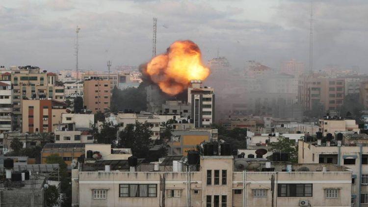 خوفناک بمباری