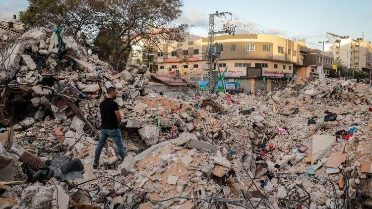 جنگ کے بعد تباہ حال غزہ پٹی کی تعمیر نو پر ہونے والے اخراجات کا تخمینہ لگایا جا رہا ہے