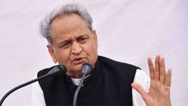 راجستھان کے وزیر اعلی اشوک گہلوت