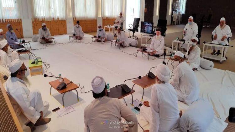 جمعیت علما ہندکی مجلس عاملہ کی میٹنگ