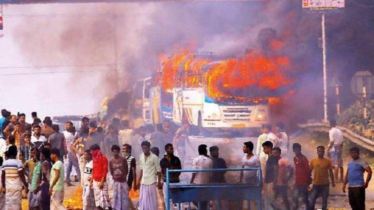 بنگال میں تشدد