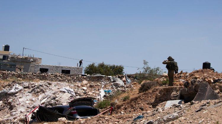 تباہ حال غزہ