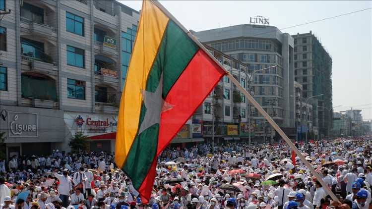 میانمار کی صورتحال پر تبادلہ خیال