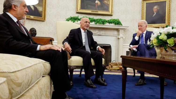 افغان صدر کی امریکی صدرجوبائیڈن سے ملاقات