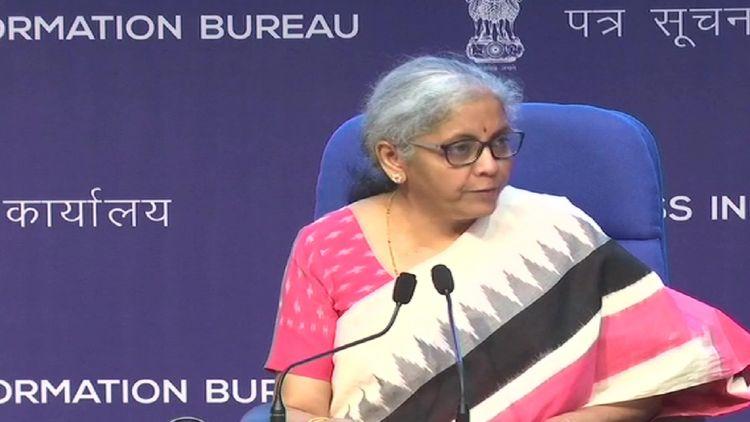 وزیر خزانہ محترمہ نرملا سیتارامن
