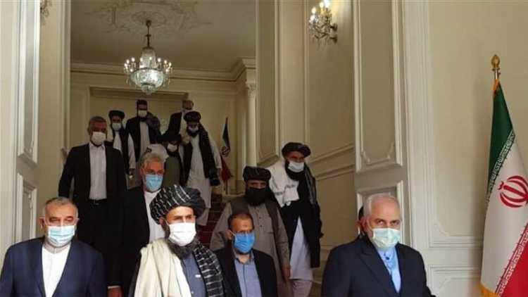 افغان طالبان اور سیاسی لیڈروں کی ایرانی وزیرِ خارجہ سے ملاقات