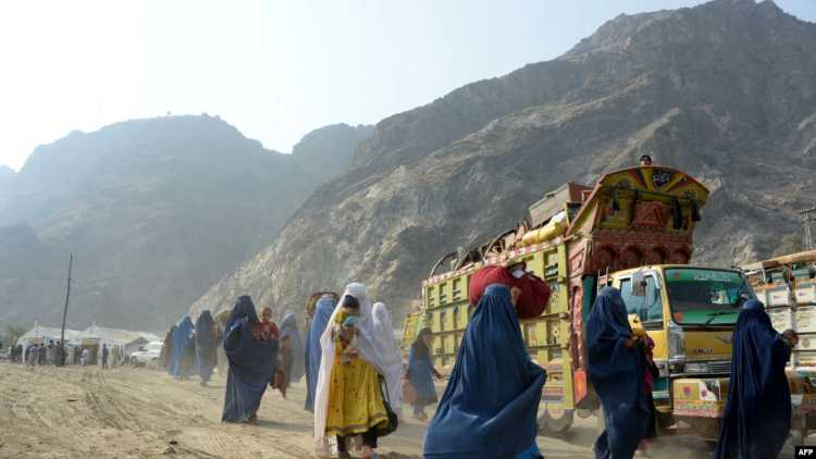 پاکستان میں آسکتاہے افغان پناہ گزینوں کاسیلاب