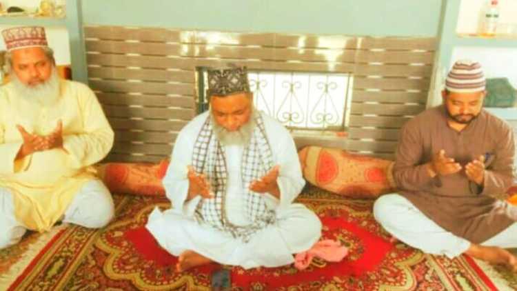 شاہ اعظم برکاتی کی موت پر تعزیتی نشست