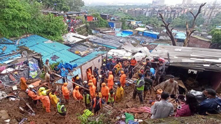 تباہ کن بارش سے شہر ٹھپ