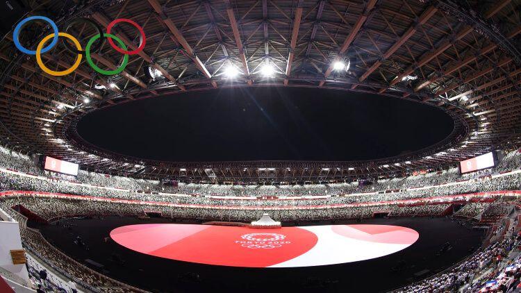 ٹوکیو میں اولمپکس کی افتتاحی تقریب کی تیاری مکمل
