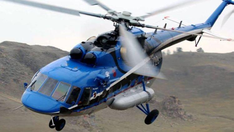 روس میں ہیلی کاپٹر گر کر تباہ، دس افراد لاپتہ