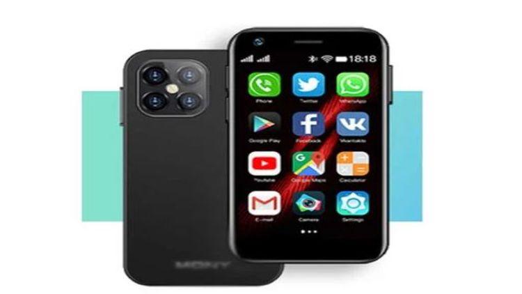 دنیا کا سب سے چھوٹا 4جی اسمارٹ فون متعارف