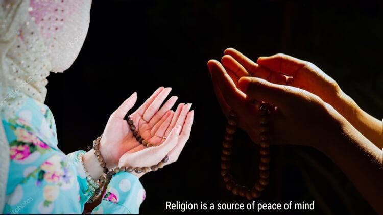 مذہب ذہنی سکون کا ذریعہ