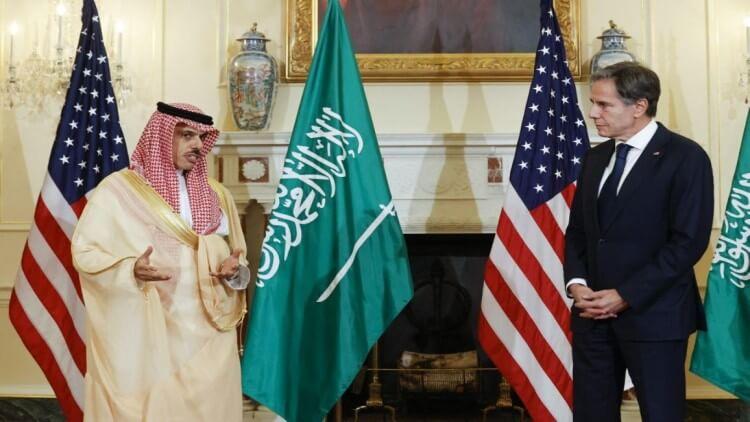 سعودی عرب اور اس کے عوام کے دفاع کے لیے پرعزم ہے: بلنکن