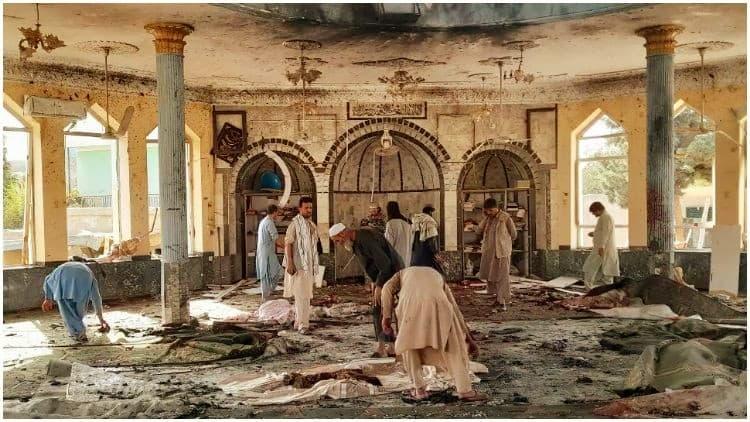 افغانستان : شیعہ مسجد میں دھماکہ ۔ 32 ہلاک