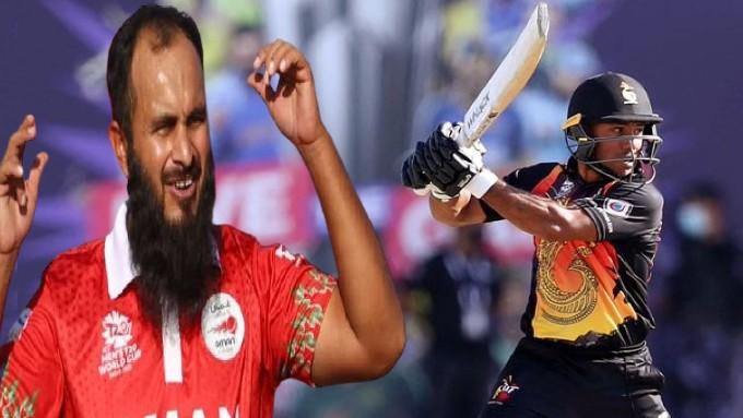'ٹی ٹوئنٹی ورلڈ کپ : عمان نے جیت سے کی 'بسمہ اللہ