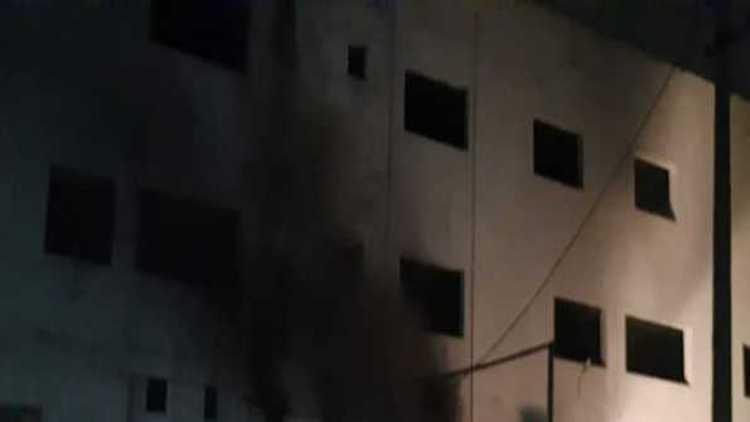 اسپتال میں آتشزدگی