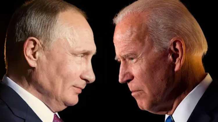 امریکی صدرجوبائیڈن اور روسی صدر پوتن