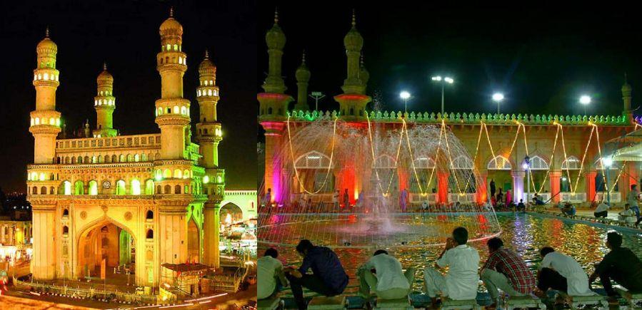 روشن ہے حیدرآباد
