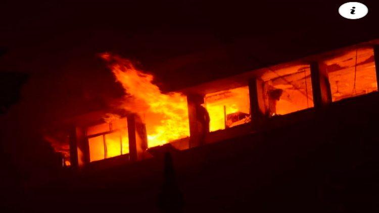 خوفناک آتشزدگی