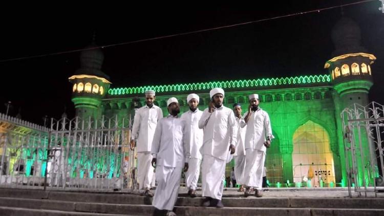 حیدرآباد میں پر نور شب