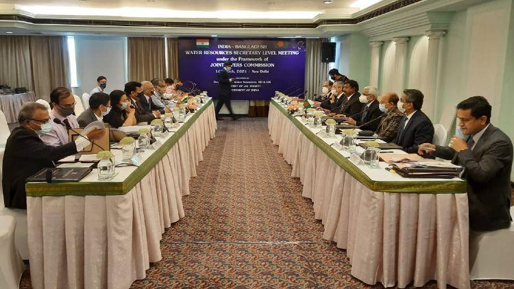 ہند۔ بنگلہ دیش میٹنگ کا منظر