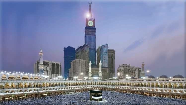 مسجدحرام کادلنشیں نظارہ