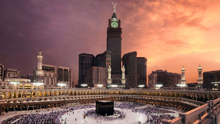 مسجد حرام کا فضائی منظر