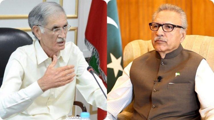 پاکستانی صدر اور وزیر دفاع