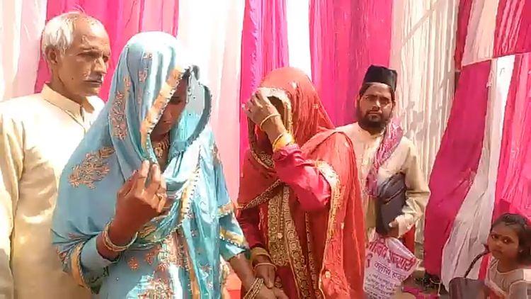 مسلم جوڑے کی شادی