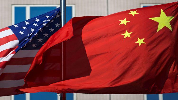 چین اورامریکہ کے پرچم