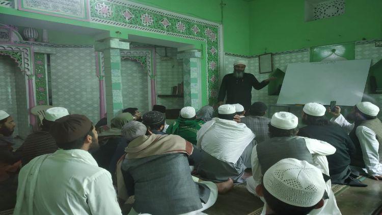 مولانا دلشاد ندوی کا دعوتی موضوع پرخطاب