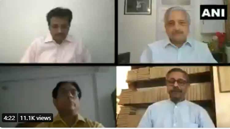 ایمس دہلی کے ڈائریکٹر ، ڈاکٹر ڈاکٹر رندیپ گلیریا ، میدانتا   کے صدر ڈاکٹر نریش تریھن ، میڈیسین ایمس  کے پروفیسر اور ایچ او ڈی نوین وگ اور ڈائریکٹر جنرل (ہیلتھ سروسز) ڈاکٹر سنیل کمار نے  اتوار  کو  ایک پریس کانفرنس میں حصہ لیا