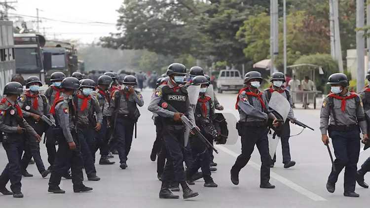 میانمارمیں فوج کے ذریعے تشددکا سلسلہ جاری