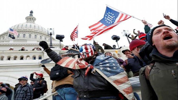 امریکی پارلیمنٹ پر حملہ