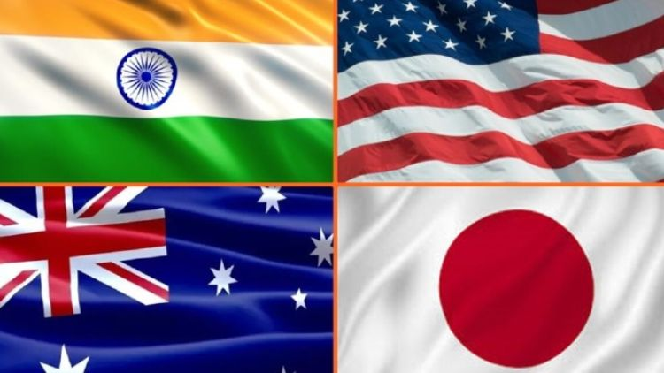 کواڈ الائنس ہندوستان ، امریکہ ، جاپان اور آسٹریلیا پر مشتمل ہے