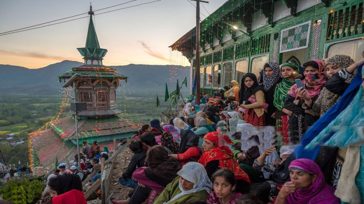 صوفی نشانیوں کا مرکز کشمیر